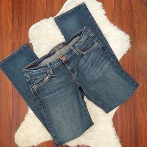 American Eagle Straight 77 Medium Wash Jeans